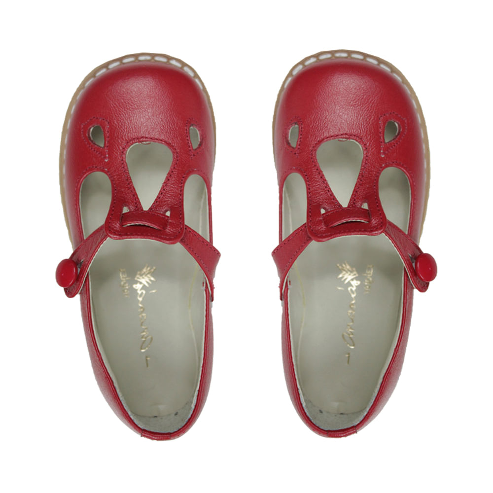 Sapato-Boneca-Jojo-Vermelho
