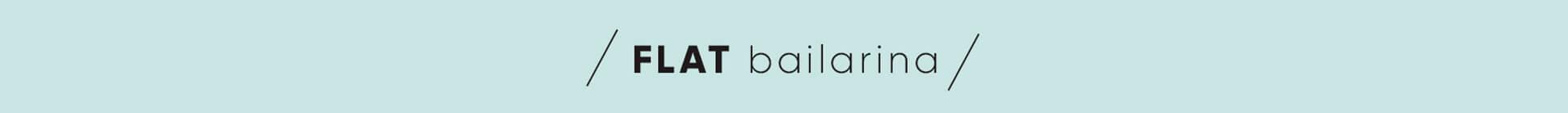 Banner Bailarina Flat
