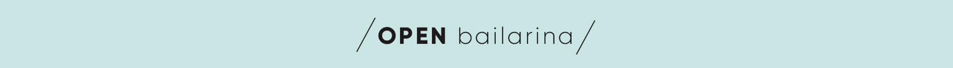 Banner Open Bailarina