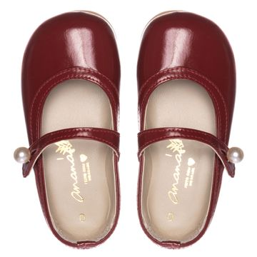 Sapato Ananas cordelia Verniz Vermelho